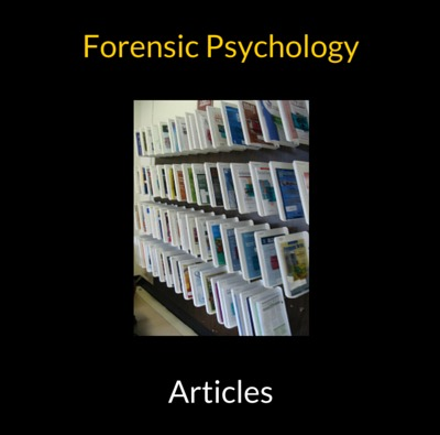 Expert Forensic Psychology Articles
