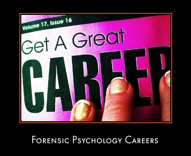 Forensic Psychology Career Question