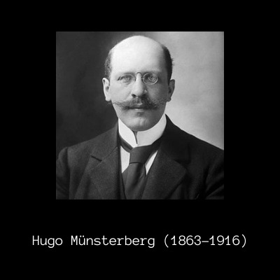 Hugo Munsterberg Forensic Psychology Pioneer