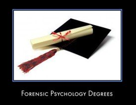 Forensic Psychology Degree Question